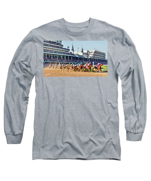 Around The First Turn Long Sleeve T-Shirt
