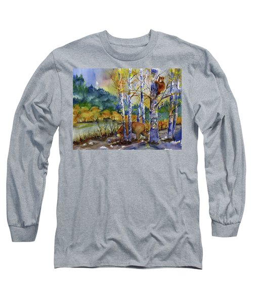 Aspen Bears At Emmigrant Gap Long Sleeve T-Shirt