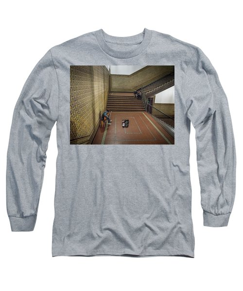 Long Sleeve T-Shirt featuring the photograph Audience by Alex Lapidus