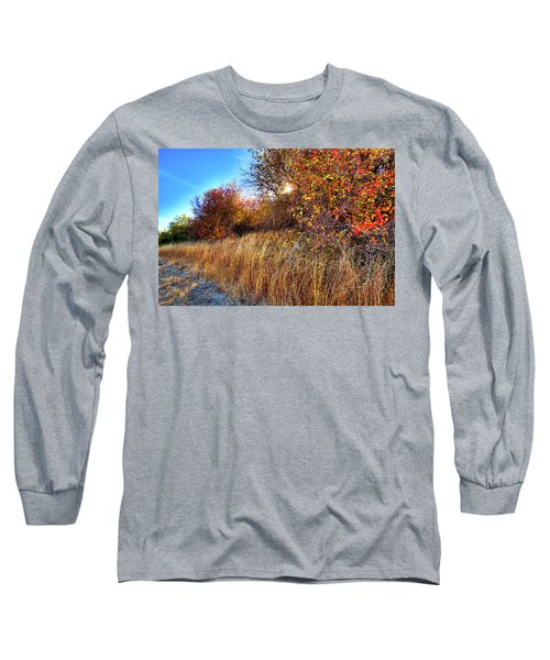 Long Sleeve T-Shirt featuring the photograph Autumn At Magpie Forest by David Patterson