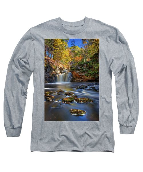 Autumn Day At Doane's Falls Long Sleeve T-Shirt