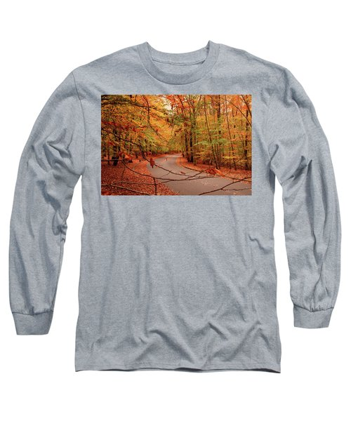 Autumn In Holmdel Park Long Sleeve T-Shirt