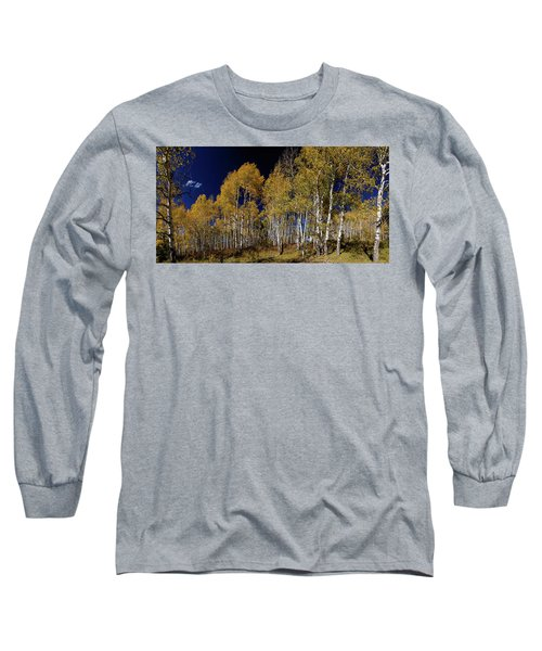 Long Sleeve T-Shirt featuring the photograph Autumn Walk In The Woods by James BO Insogna