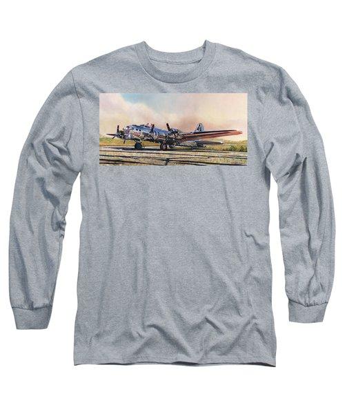 B-17g Sentimental Journey Long Sleeve T-Shirt