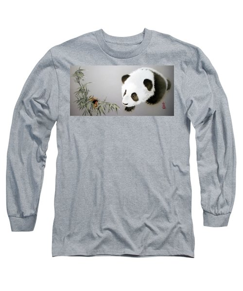 Baby Panda - Explorer Long Sleeve T-Shirt