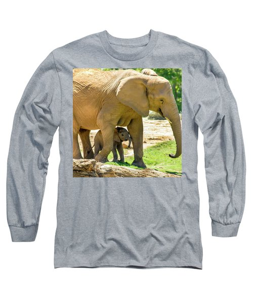 Baby's Safe House Long Sleeve T-Shirt