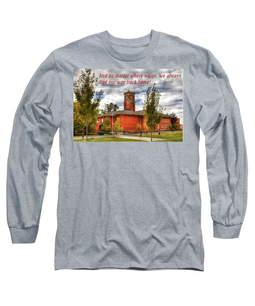 Long Sleeve T-Shirt featuring the photograph Back Home by David Patterson