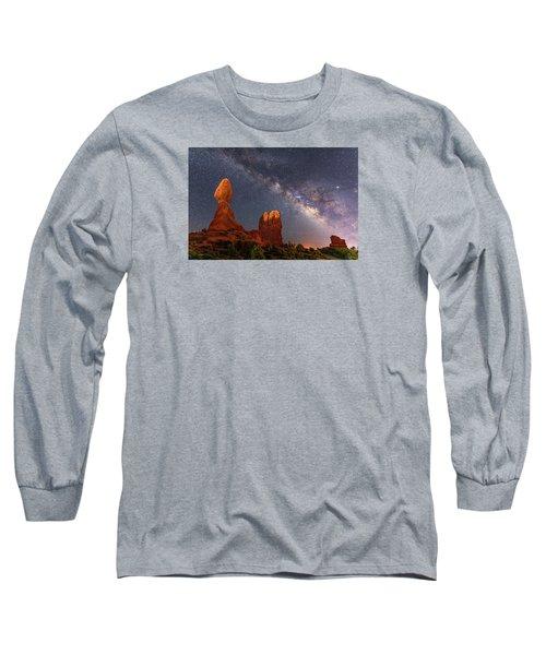 Balanced Rock Night Long Sleeve T-Shirt