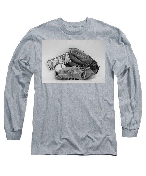 Ball And Glove Long Sleeve T-Shirt