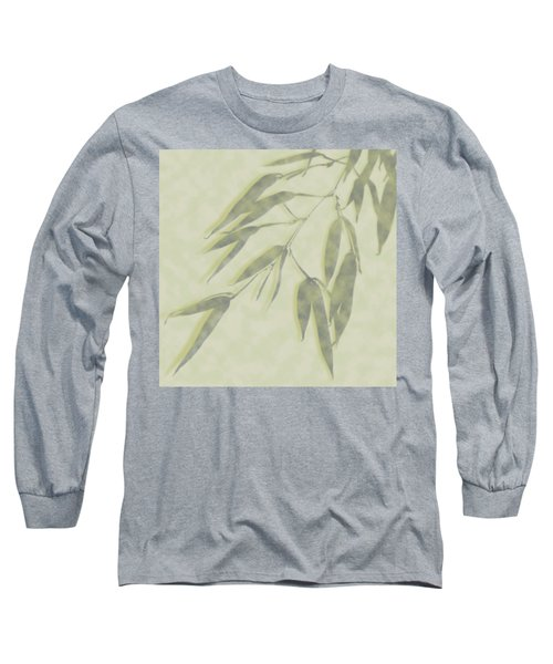 Bamboo Leaves 0580c Long Sleeve T-Shirt