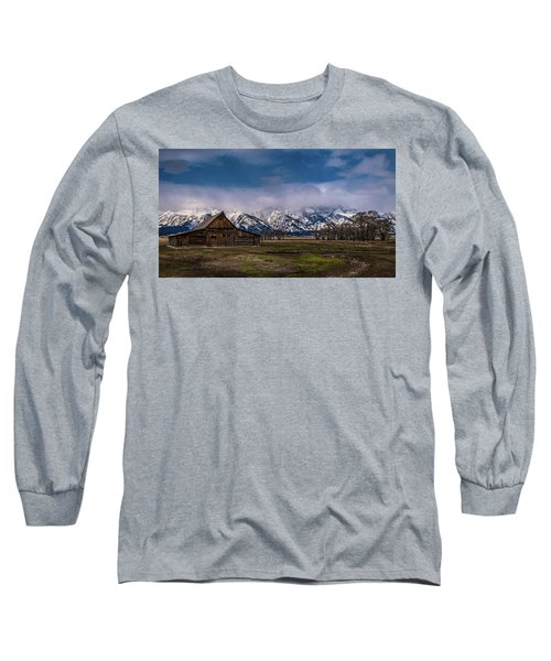 Barn At Mormon Row Long Sleeve T-Shirt