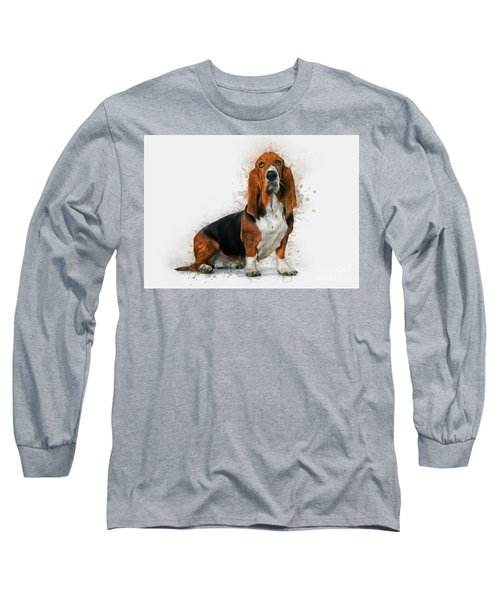 Basset Hound Long Sleeve T-Shirt