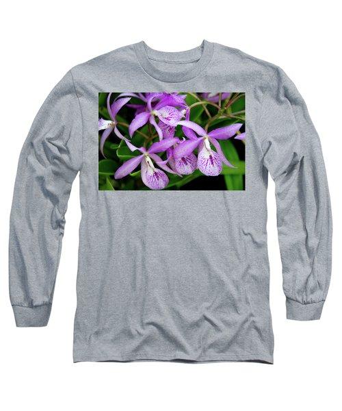 Bc Maikai 'louise' Orchid Long Sleeve T-Shirt