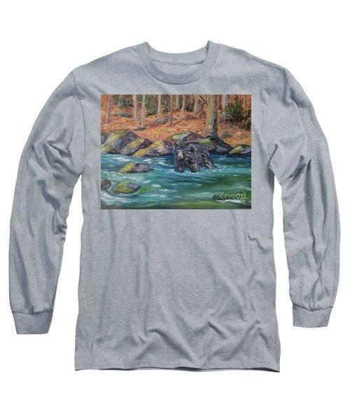 Bear Crossing Long Sleeve T-Shirt
