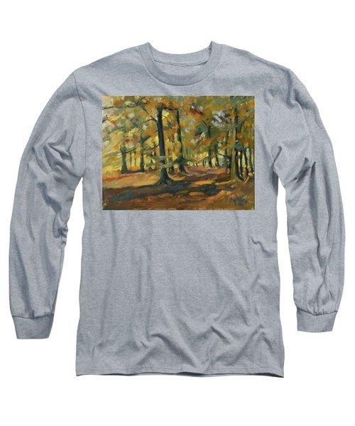 Beeches In Autumn Long Sleeve T-Shirt