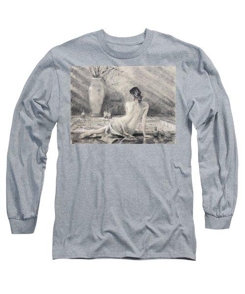 Before The Bath Long Sleeve T-Shirt