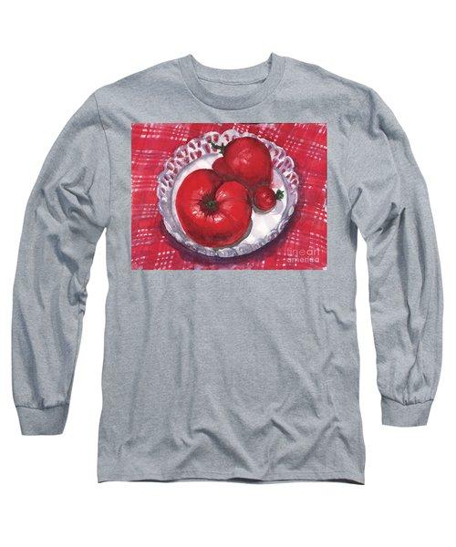 Bella Tomatoes Long Sleeve T-Shirt