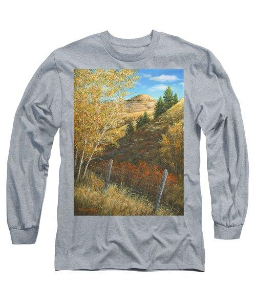 Belt Butte Autumn Long Sleeve T-Shirt