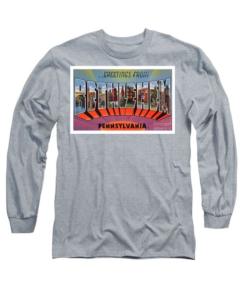 Bethlehem Greetings Long Sleeve T-Shirt
