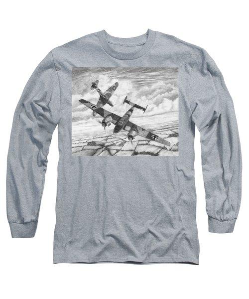 Bf-110c Zerstorer Long Sleeve T-Shirt