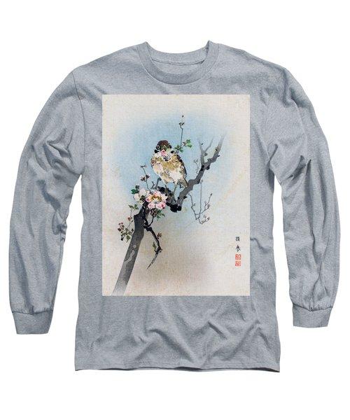 Bird And Petal Long Sleeve T-Shirt