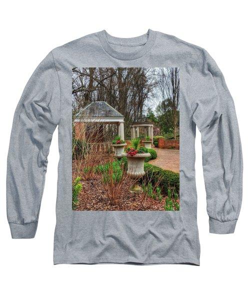 Bits Of Green Long Sleeve T-Shirt