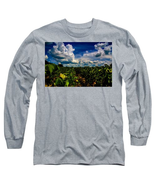 Blooming Cotton  Long Sleeve T-Shirt