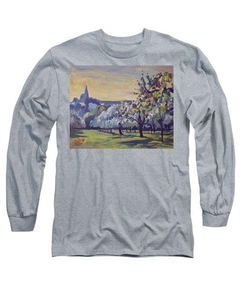 Blossom Trees Near Vijlen Long Sleeve T-Shirt