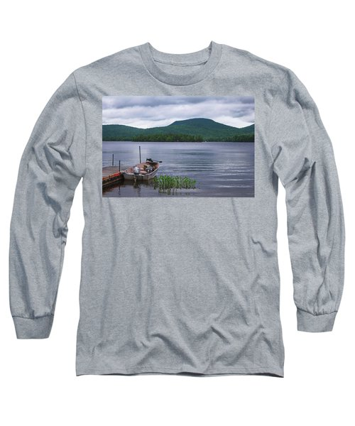 Blue Mountain Lake Long Sleeve T-Shirt