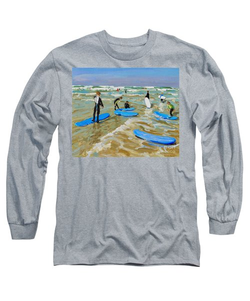 Blue Surf Boards, Bude Long Sleeve T-Shirt