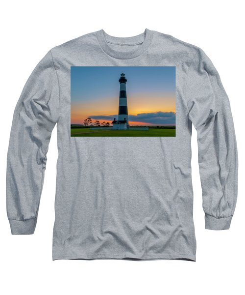 Bodie Island Lighthouse, Hatteras, Outer Bank Long Sleeve T-Shirt