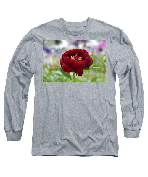 Bold Garnet Long Sleeve T-Shirt