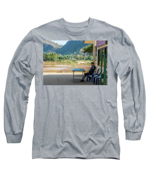 Border Guard Hard At Work Long Sleeve T-Shirt