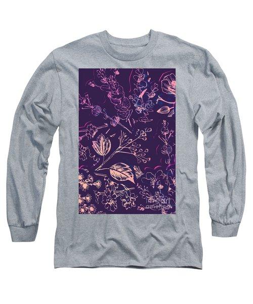 Botanical Branching Long Sleeve T-Shirt