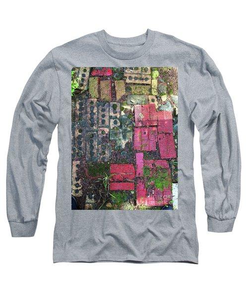 Brick Composition 3 Long Sleeve T-Shirt