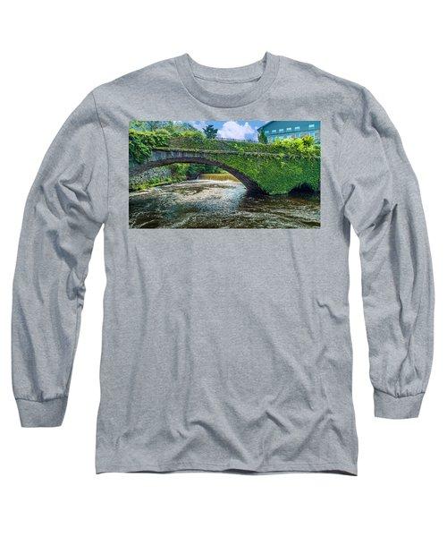 Bridge Of Flowers Long Sleeve T-Shirt