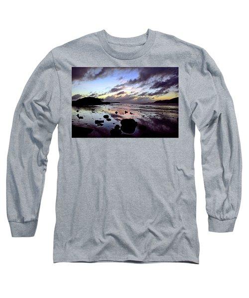 Bright Mirror Of Sunset Light Long Sleeve T-Shirt