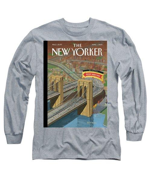 Brooklyn Or Bust Long Sleeve T-Shirt