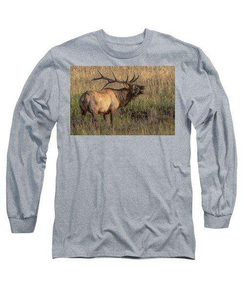 Bugling Bull Elk 7777 Long Sleeve T-Shirt