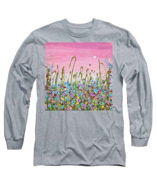 Buttercups And Lilacs Long Sleeve T-Shirt