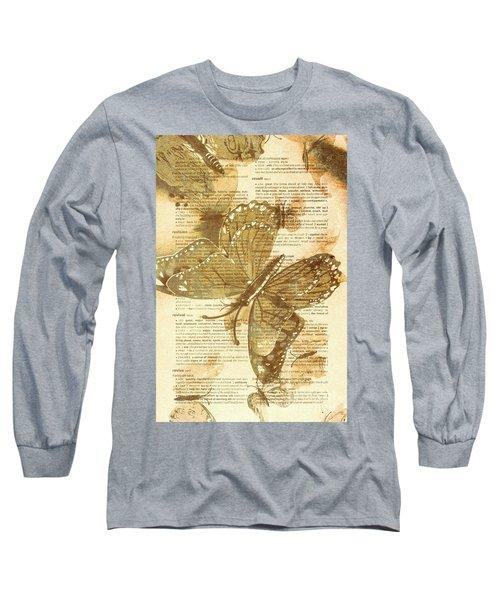 Butterfly Antiquities Long Sleeve T-Shirt