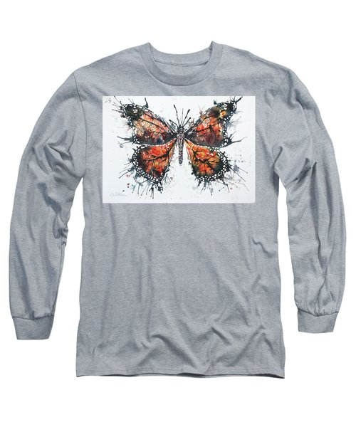 Butterfly Study I Long Sleeve T-Shirt