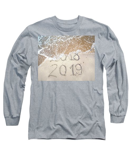 Bye Bye 2018 Welcome2019 Long Sleeve T-Shirt