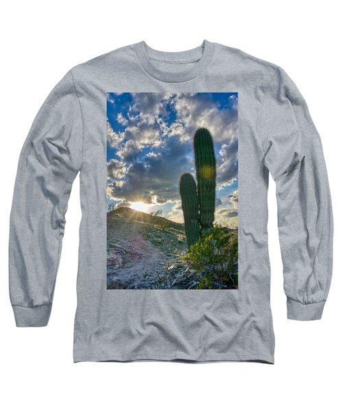 Cactus Portrait  Long Sleeve T-Shirt