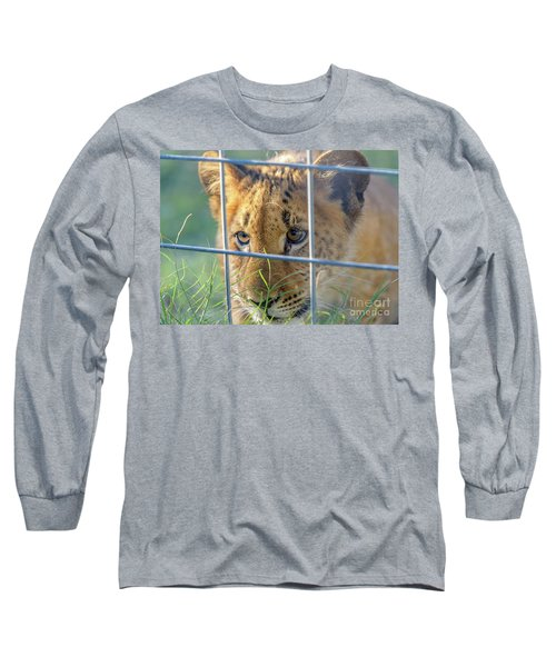 Caged Long Sleeve T-Shirt