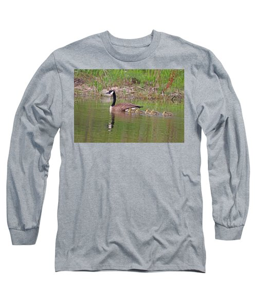 Canada Goose And Goslings Long Sleeve T-Shirt
