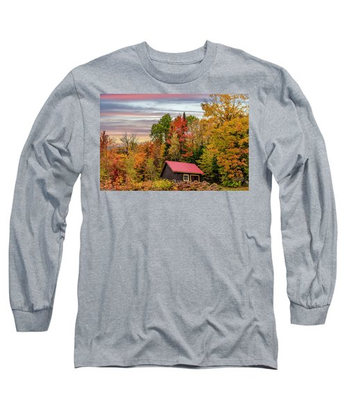 Canadian Autumn Long Sleeve T-Shirt