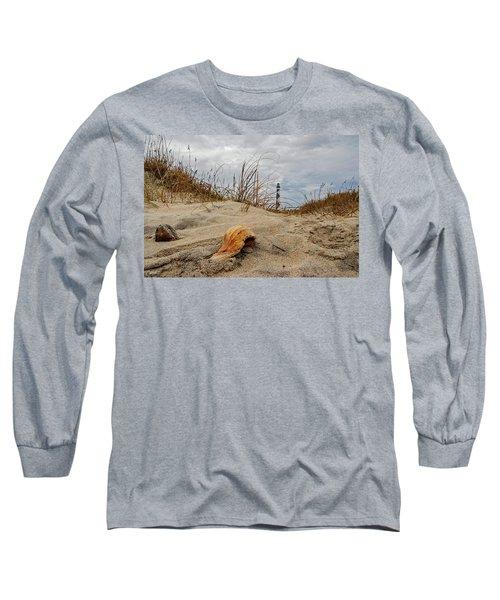 Cape Lookout Lighthouse Long Sleeve T-Shirt