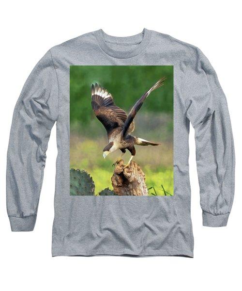 Caracara Landing Long Sleeve T-Shirt