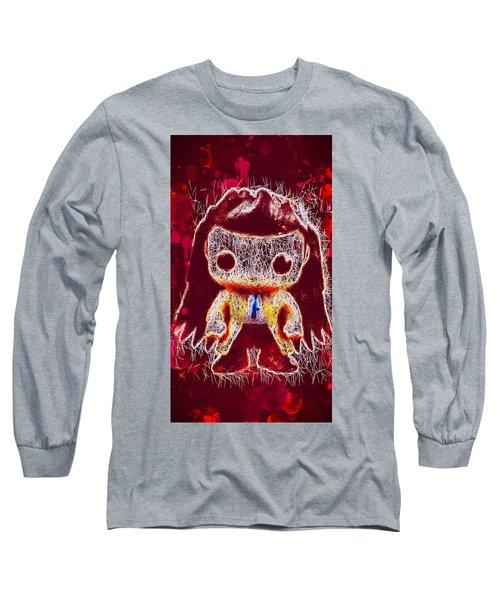 Castiel Supernatural Pop Long Sleeve T-Shirt